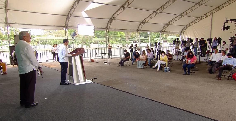 #Mañanera: Destaca el gobernador Carlos Joaquín acciones contra el Covid en Quintana Roo.