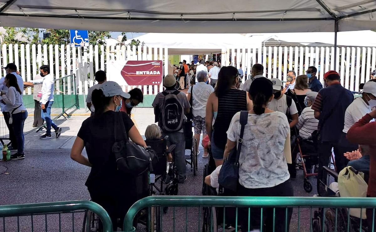 Más de 5 mil adultos mayores inmunizados contra covid-19 en Cancún