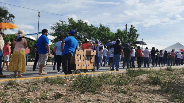 Concluye exitosamente vacunación de docentes en Quintana Roo