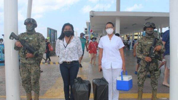 Arriban más vacunas anti Covid-19 a Cozumel