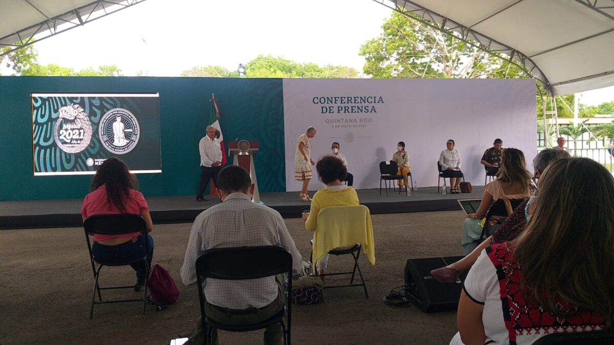 Encabezó el presidente López Obrador reunión de seguridad en Chetumal.