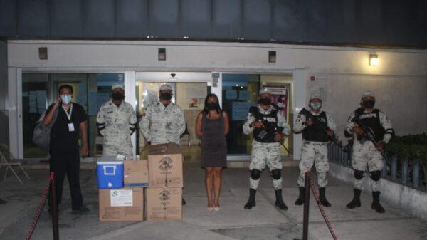 Llegan las vacunas a Cozumel para personas de 50 a 59 años de edad.