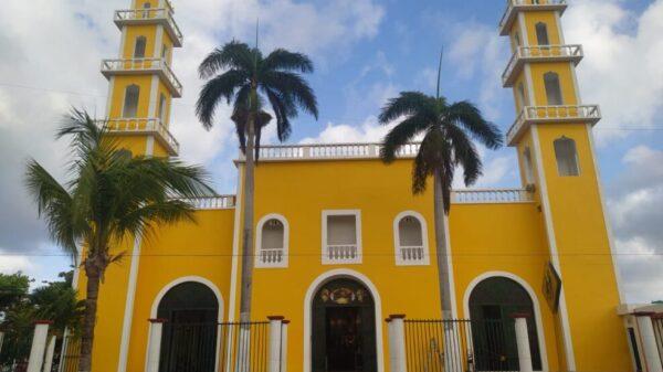 Vandalizan la iglesia Corpus Christi en Cozumel.