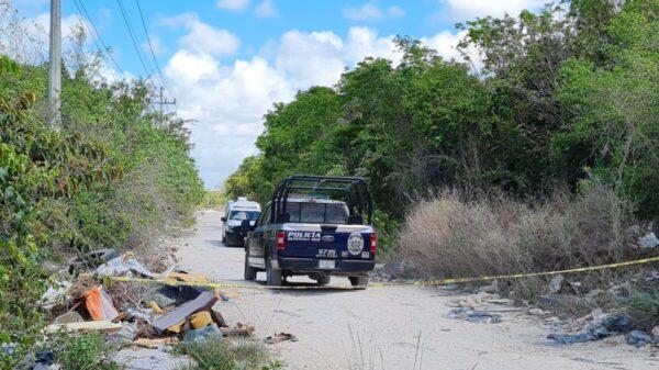 Cancún: Hallan cadáver ensabanado en la colonia la Unión (VIDEO).