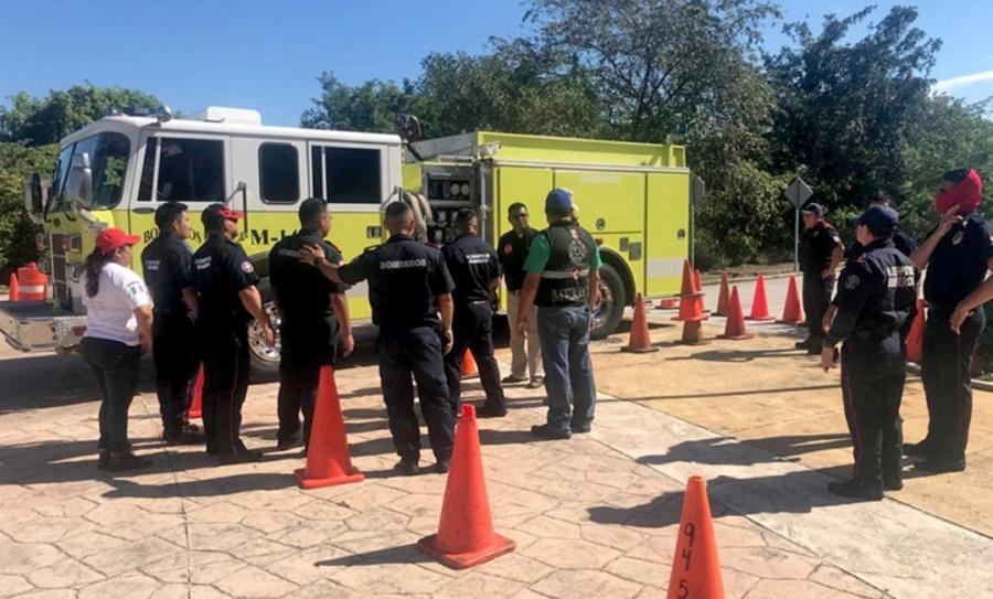 Rechazan ambientalistas estación de bomberos en el centro de Puerto Morelos.