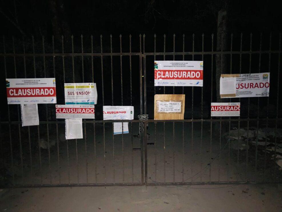 Revienta la Policía Quintana Roo 'fiesta Covid' en Tulum.