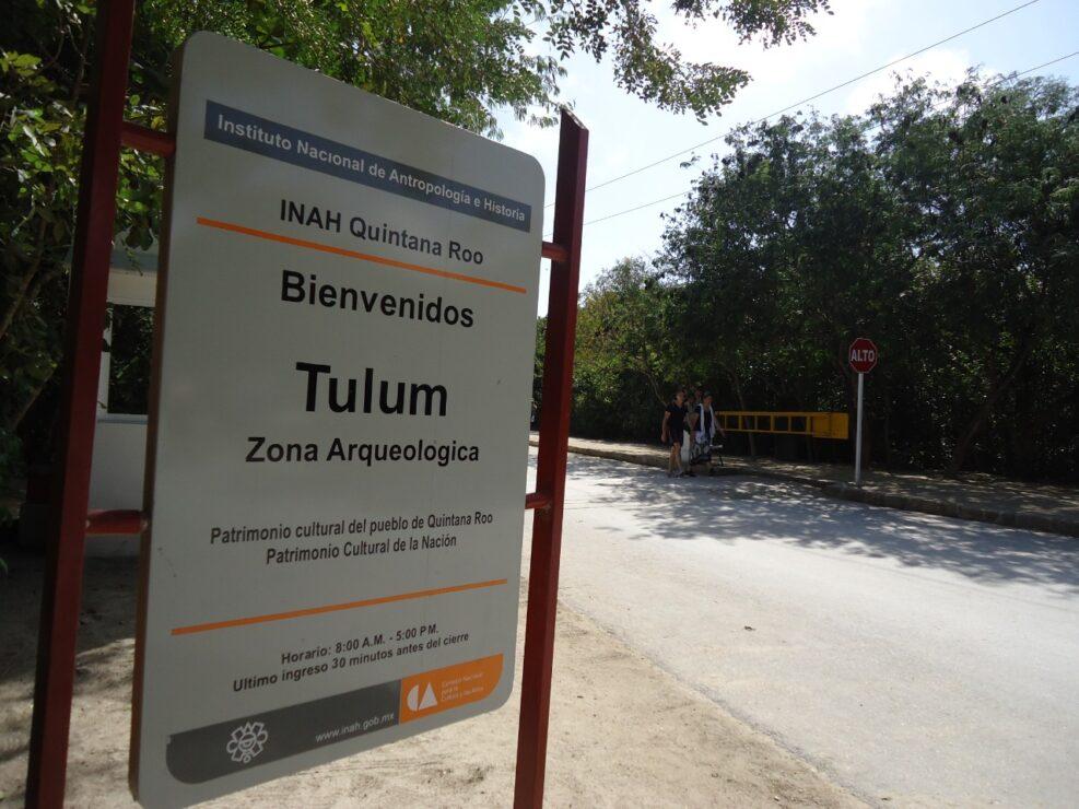 Cierran a partir de hoy domingo 9 de mayo la Zona Arqueológica de Tulum; la medida obedece a que se detectó un caso de Covid-19.