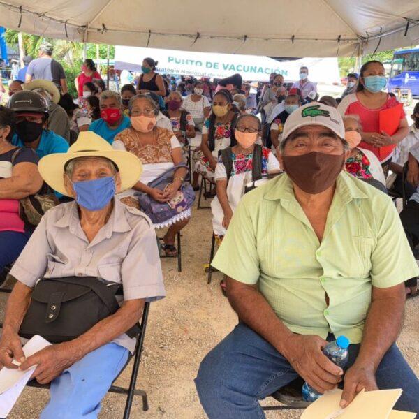 Falta vacunar al 20% del sector poblacional de 50 a 59 años en FCP.
