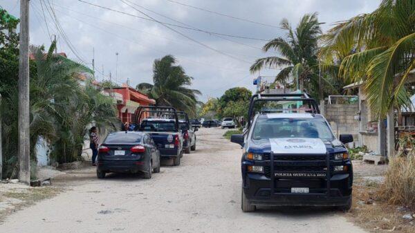 Dos baleados en la Supermanzana 245 de Cancún; uno murió en el lugar.