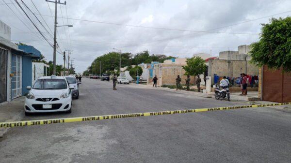 Cancún: Intento de ejecución en Villas del Mar II (VIDEO).