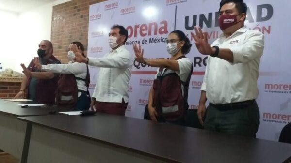 Yesunni Martínez, candidata sustituta de Morena en Othón P. Blanco.