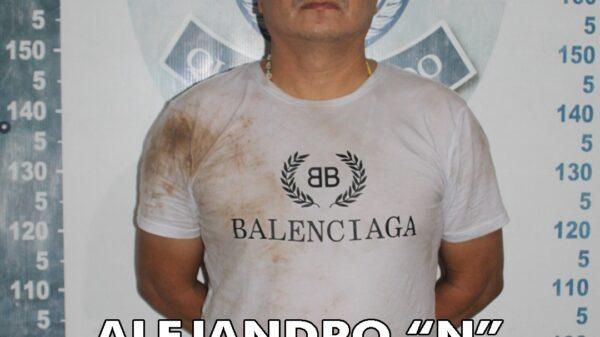 Detienen en Cancún a escurridizo delincuente y narcomenudista.