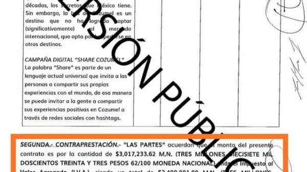 En plena pandemia gasta Pedro Joaquín 3.5 mdp en supuesta promoción turística.