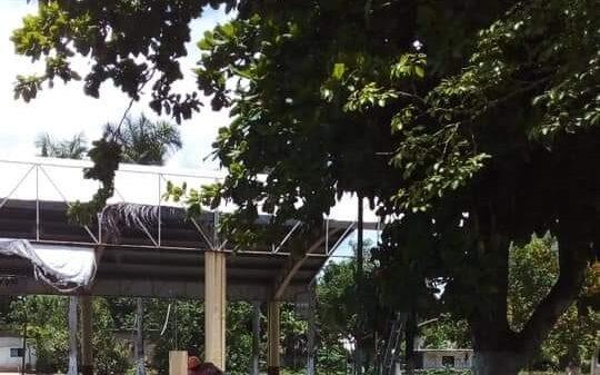 Acciones preventivas contra huracanes en la comunidad de San Pedro.
