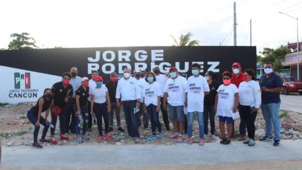 #Elecciones2021: Cancunenses desatan la 'Jorgemanía'.