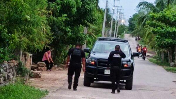 Atacan a balazos una vivienda en Espita, hay un detenido