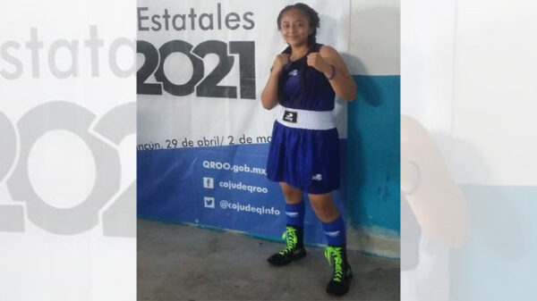 Boxeadoras mayas ponen el alto al municipio de Lázaro Cárdenas.
