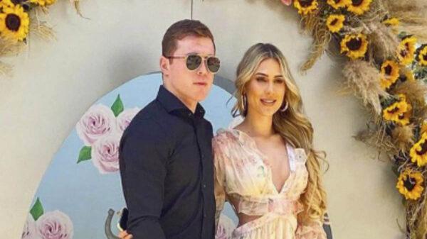 """Canelo"" Álvarez y Fernanda Gómez se casan"