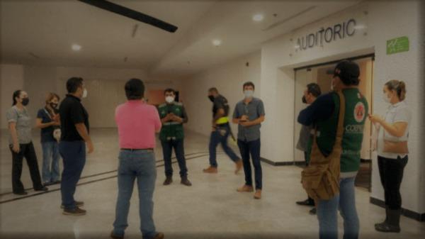 Supervisan autoridades 67 refugios anticiclónicos en Cancún.