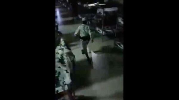 Critican a la GN por video mostrando a elemento 'haciendo pasarela' (VIDEO).