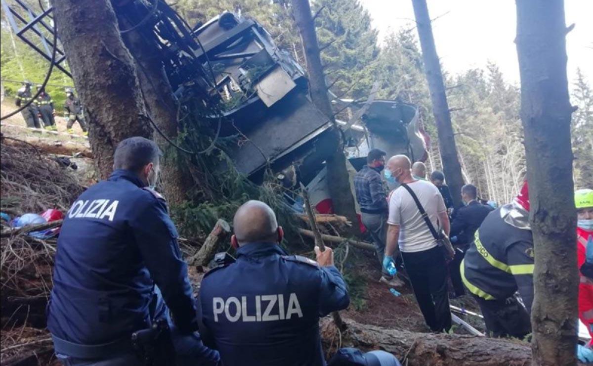 Italia promete esclarecer accidente de teleférico
