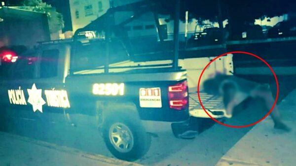 Culpan a policías por la muerte de un turista que fue detenido en Playa del Carmen