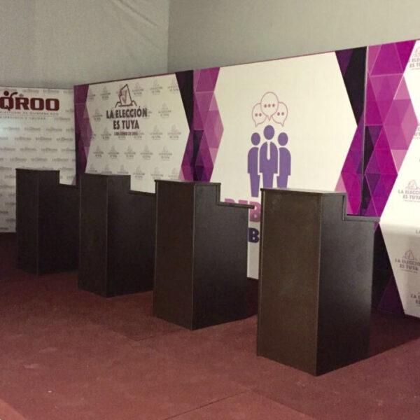 Hoy inician los debates entre candidatos a presidentes municipales de Quintana Roo.