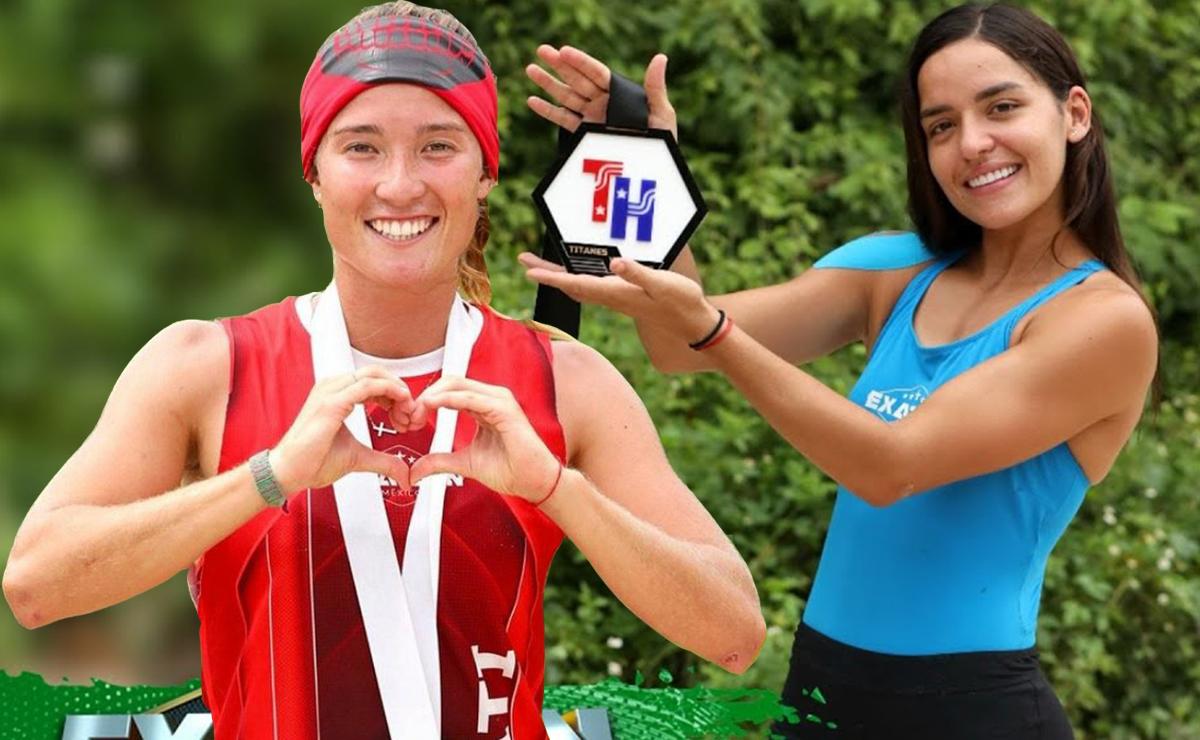 Casandra AscencioyMati Álvarez continúan en pelea colosal por premios de Exatlón