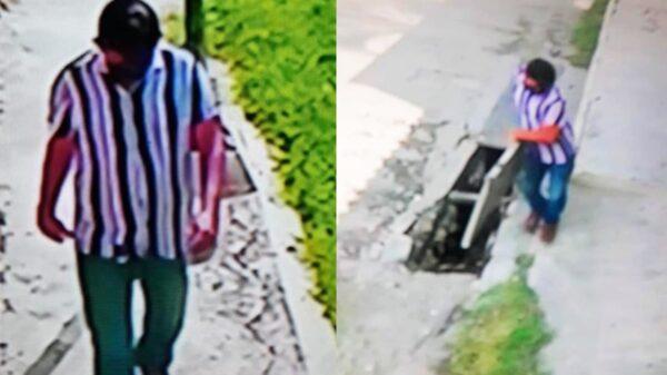 Captan a hombre robándose tapas de alcantarillas en colonia Mulsay de Mérida
