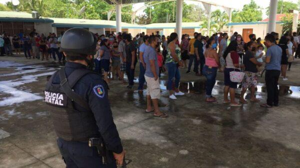 Transcurren con calma las elecciones en Leona Vicario (Fotos)