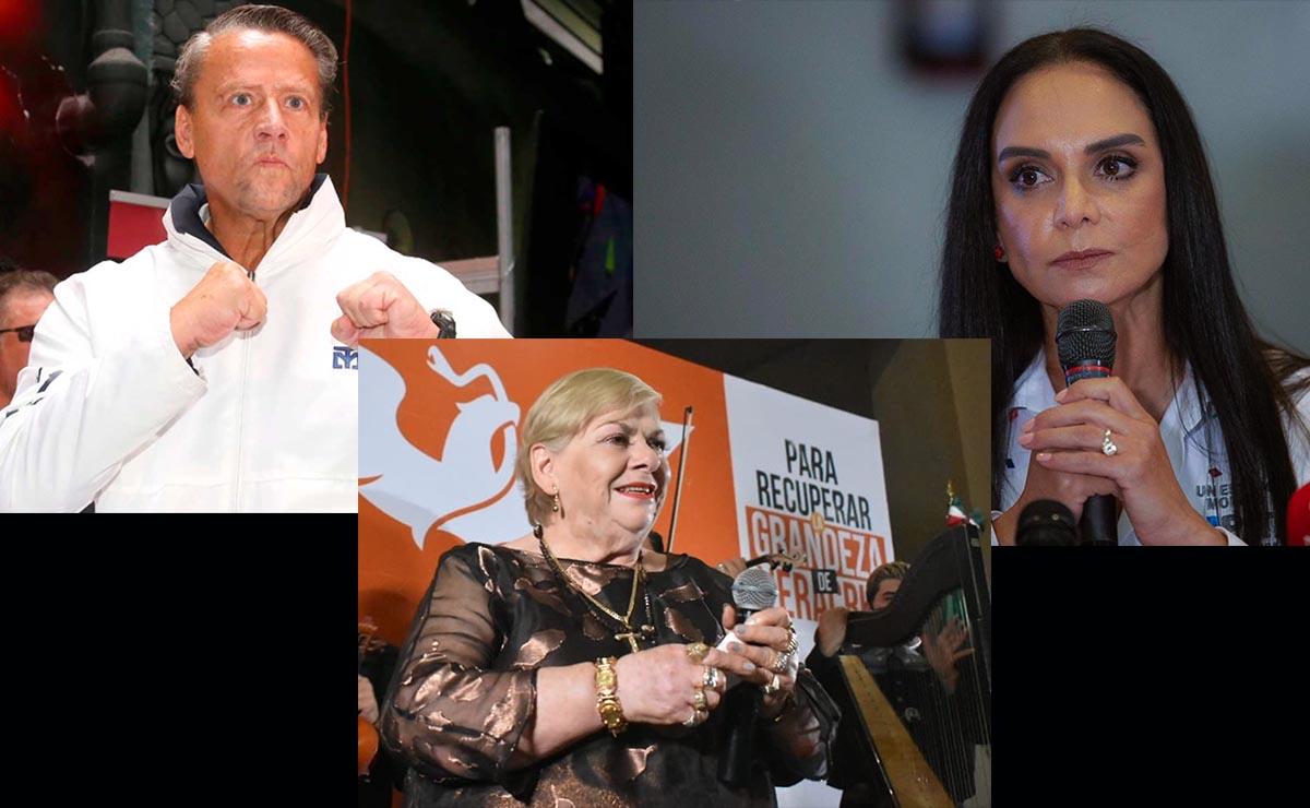 Alfredo Adame, Lupita Jones y otros famosos que no triunfaron este 6 de julio