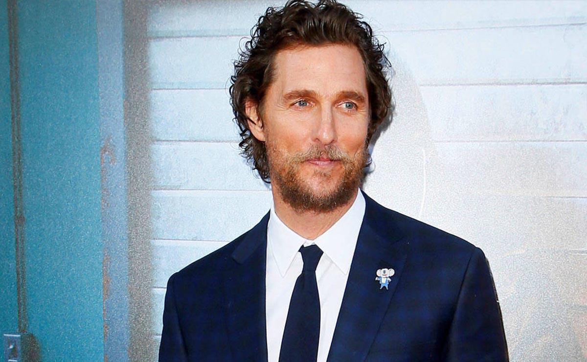Matthew McConaughey revela que fue víctima de abuso sexual a los 18 años