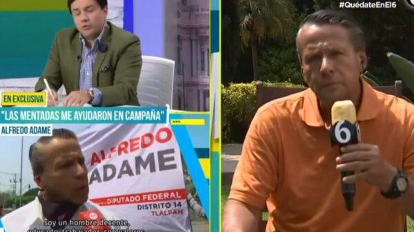 "Alfredo Adame reacciona a su derrota, asegura que ""hubo mano negra"""