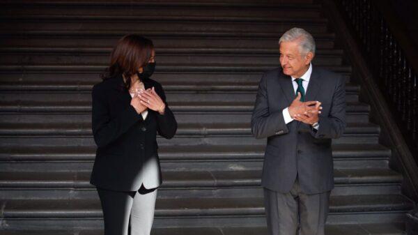 Revela AMLO que pidió a Harris ya no hablar del Plan Mérida