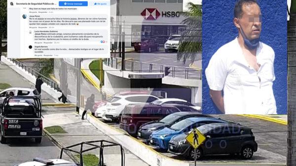 Aclara SSP presunta balacera en Cancún, secretario contesta a ciudadano