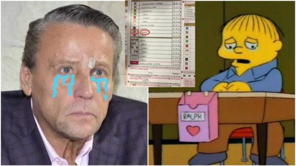 Alfredo Adame logra sólo un voto en su casilla, el suyo, y llueven los memes