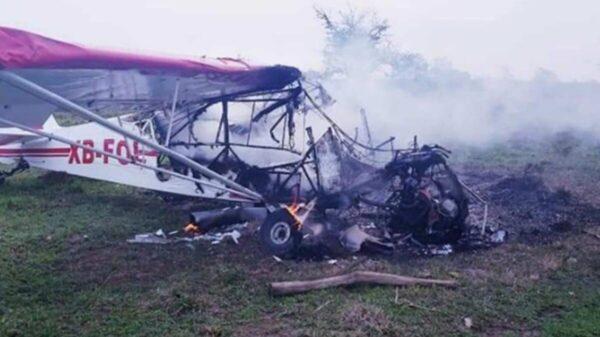 Un muerto y un herido tras desplomarse aeronave en Veracruz