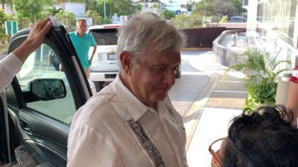 Pernocta el Presidente Andrés Manuel López Obrador en Chetumal