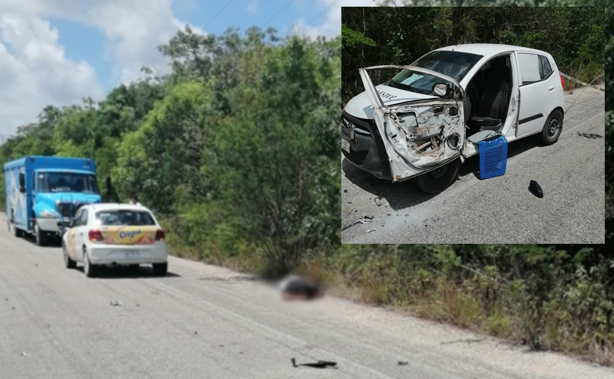 Arrollan y matan a trabajador de periódico en Quintana Roo