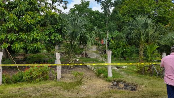 Sujeto mata a machetazos a un hombre en la comunidad maya