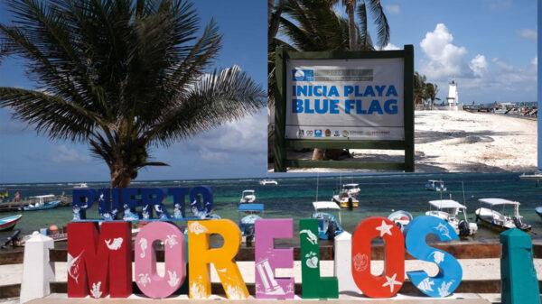 """Recibirá """"Ventana al Mar"""" de Puerto Morelos certificación Blue Flag"""
