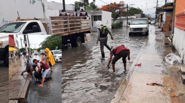 Cancún: Despliega ayuntamiento brigadas de limpieza de pozos pluviales