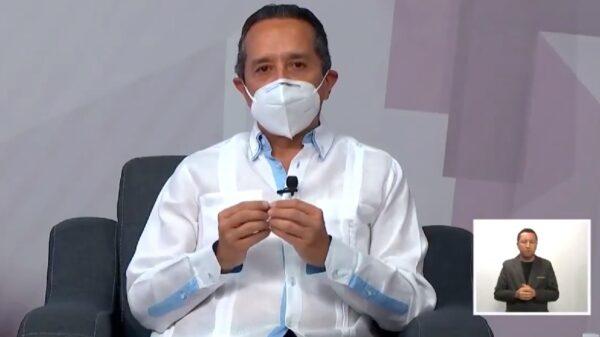 Máxima disciplina para evitar Covid-19 y salvar vidas: Carlos Joaquín.