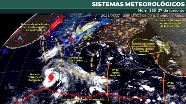 Pronóstico del clima para hoy domingo 27 de junio en Quintana Roo.