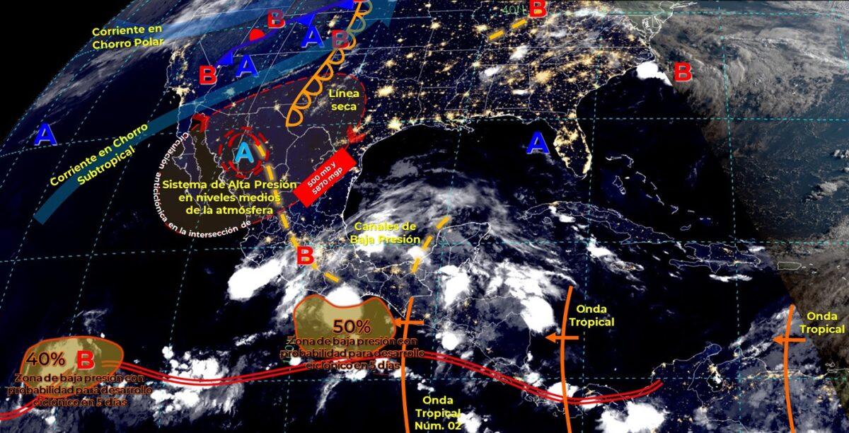 Pronóstico del clima para hoy viernes 11 de junio en Quintana Roo.
