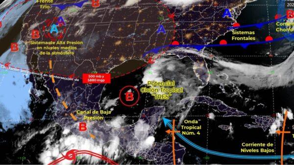 Pronóstico del clima para hoy viernes 18 de junio en Quintana Roo.