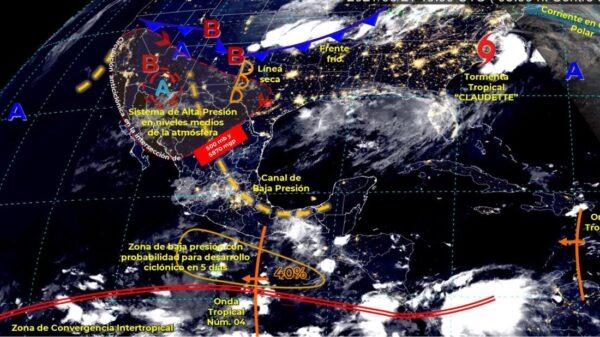 Pronóstico del clima para hoy lunes 21 de junio en Quintana Roo.