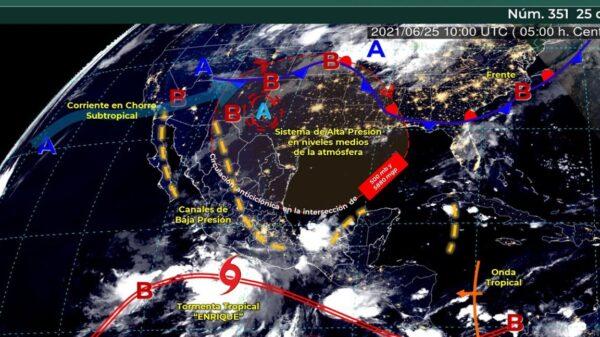 Clima: Pronostican intervalos de chubascos en Quintana Roo.