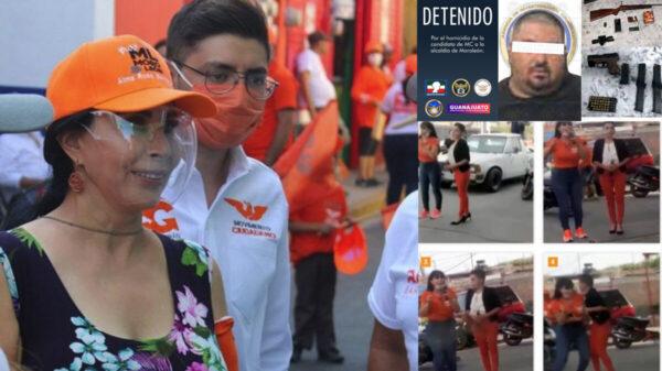 Así asesinaron a candidata de Movimiento Ciudadano; hay un detenido