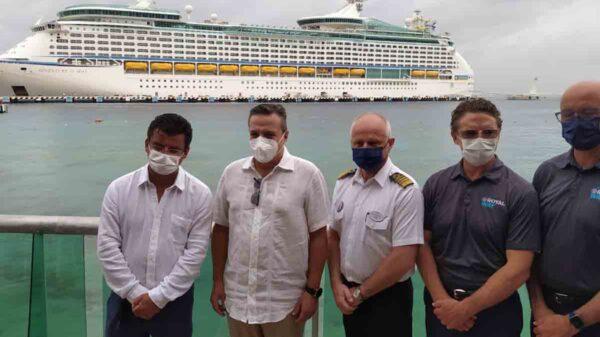 La llegada de los cruceros vitalizara la economía de Quintana Roo: Luis Alegre